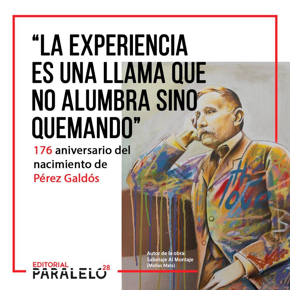 Imagen de la noticia Aniversario Nacimiento Pérez Galdós